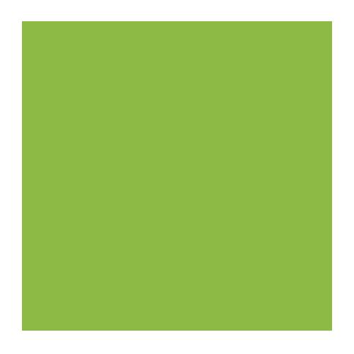 vihreä lamppu idea ikoni